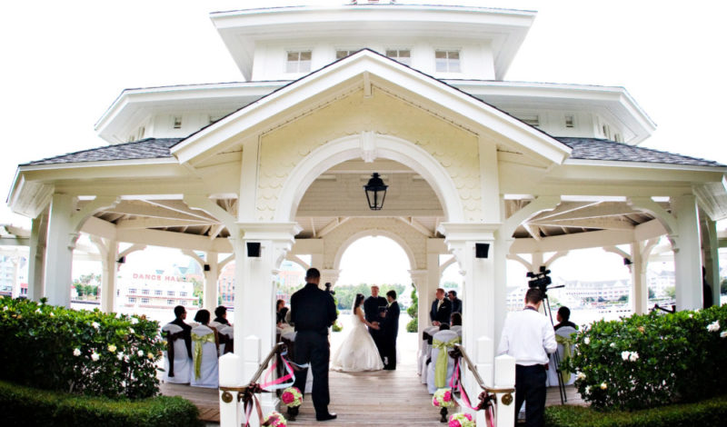 Walt Disney World Wedding Venue Photos