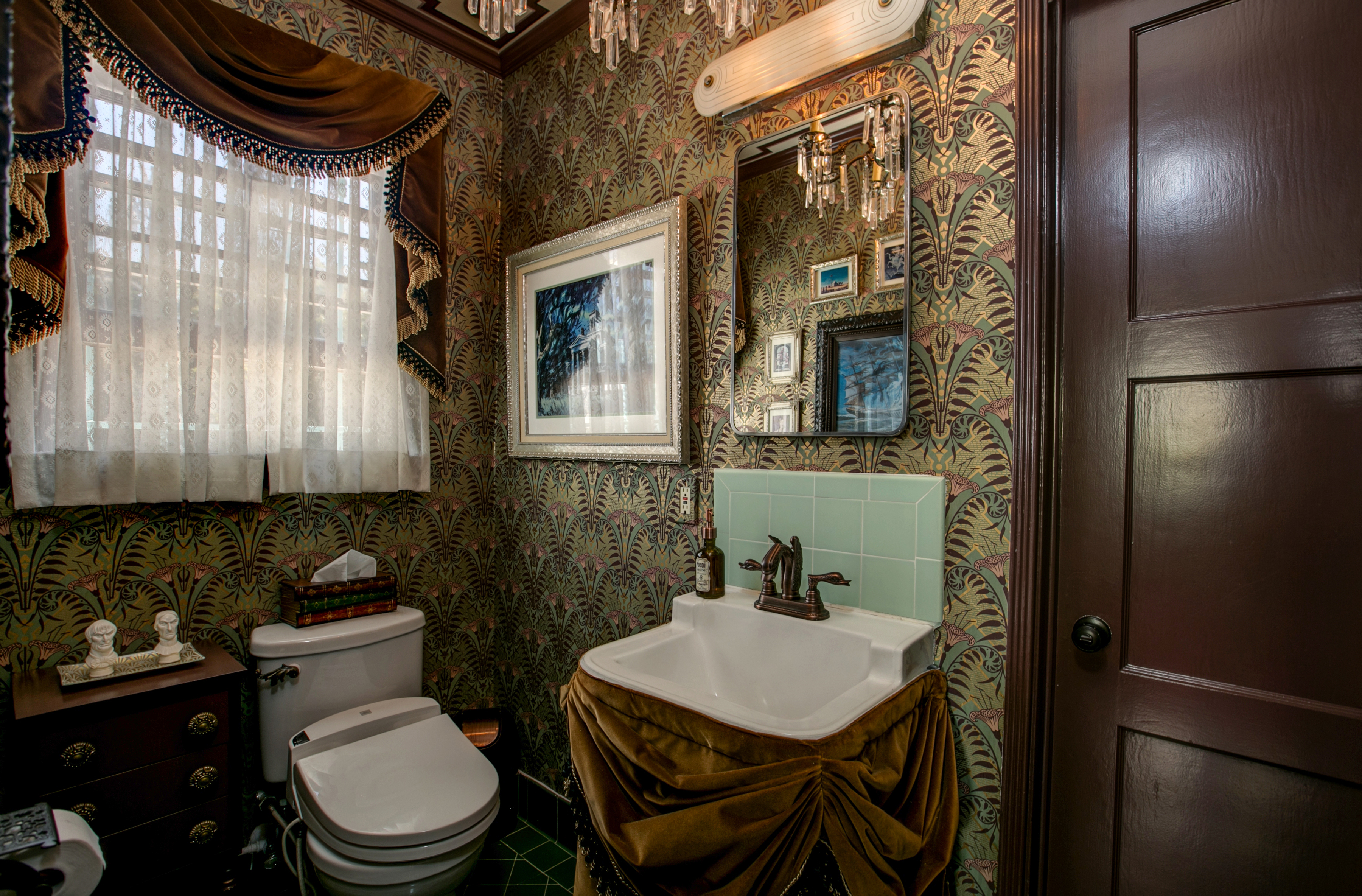Our Haunted Mansion Bathroom Is on Apartment Therapy. Our Haunted Mansion Bathroom Makeover   Disney Travel Babble